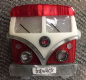 "Erstwilder Camper Van Brooch - Limited Edition ""Vagabond Wheels"" Pin (sold)"